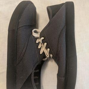 Men's casual Tom's gray fabric sneakers